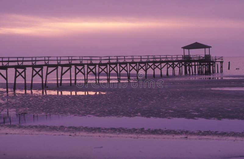 Pier At Sunrise i