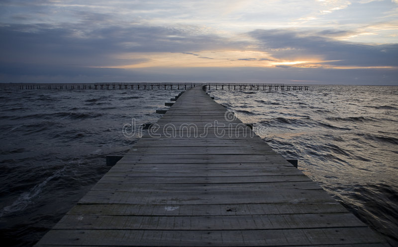 Download Pier at sunshine stock image. Image of jetty, pretty, scenic - 8101459