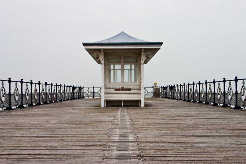 Pier in Swanage stockfotografie