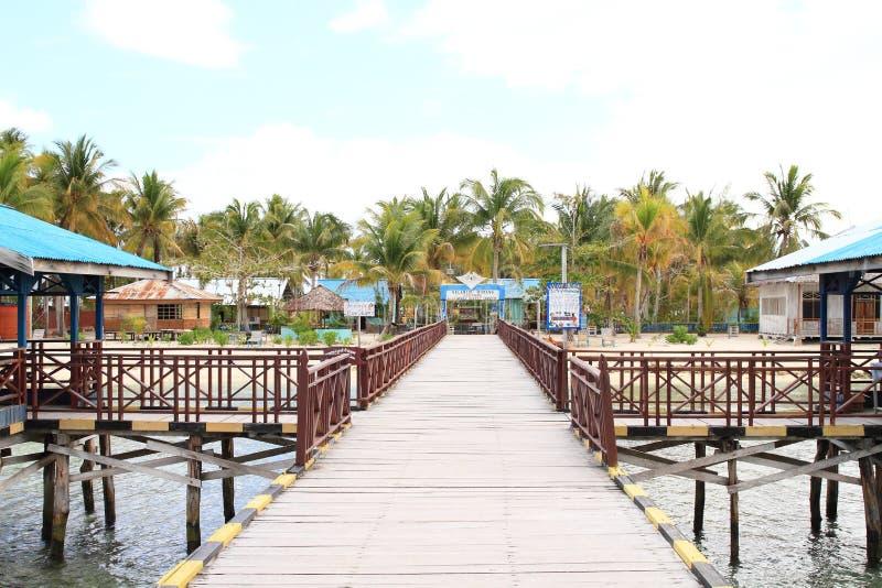 Pier van dorp Arborek stock foto