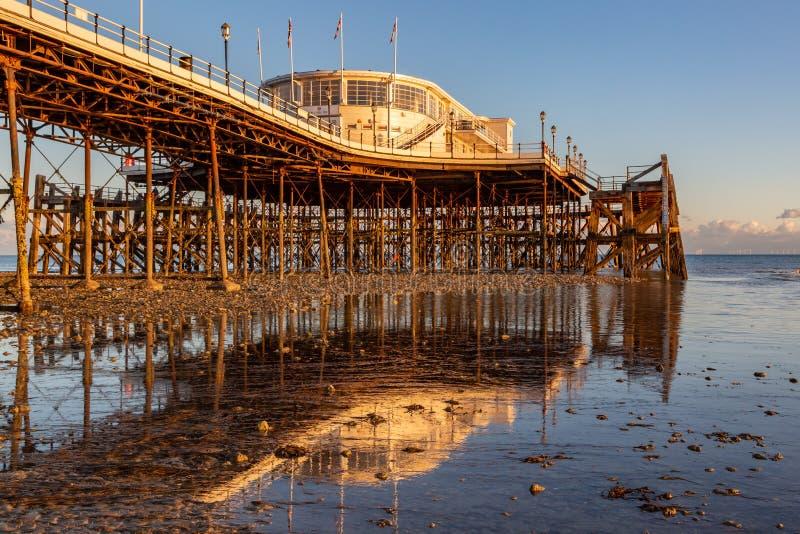 pier worthing zdjęcia stock