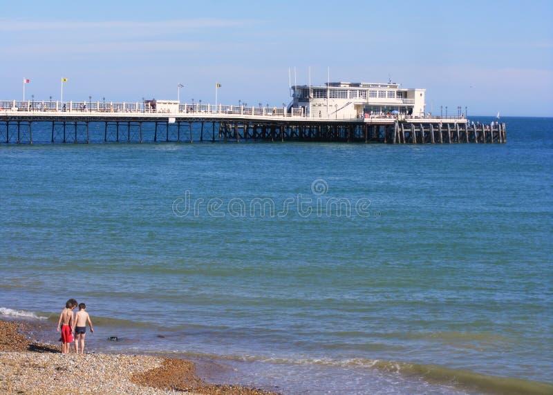 pier worthing obraz royalty free