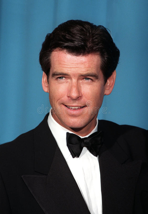 Pierce Brosnan royalty-vrije stock foto's
