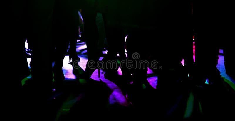 Piernas de la gente del baile imágenes de archivo libres de regalías
