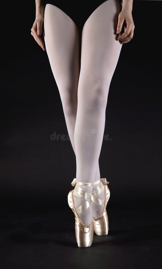 Piernas del ballet fotos de archivo libres de regalías