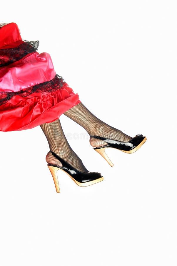 Piernas del flamenco fotos de archivo libres de regalías
