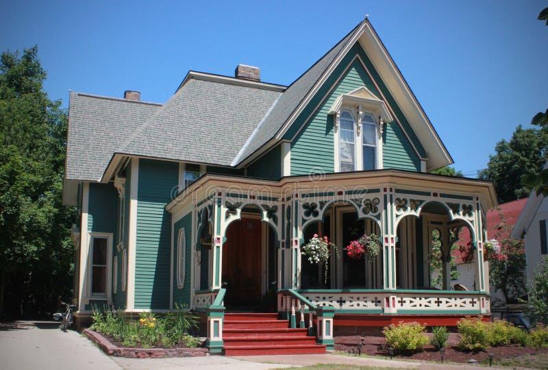 Piernikowy dom, Marquette, Michigan zdjęcie royalty free