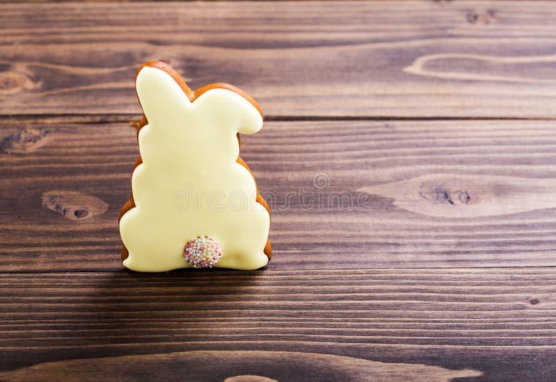 Piernikowy Easter królik fotografia stock