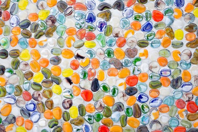 Pierre colorée de caillou photos libres de droits