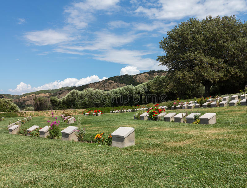Pierre commémorative chez Anzac Cove Gallipoli images stock