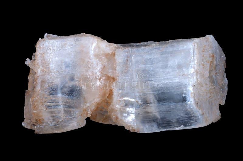 Pierre de cristal de gypse images libres de droits