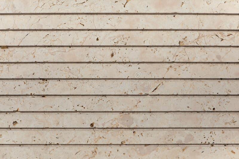 Pierre de Glassed usinée avec les cannelures parallèles images stock