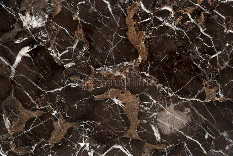 Pierre de marbre de veine de Brown image stock