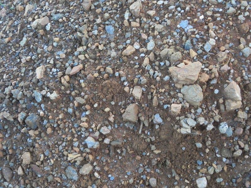 Pierre de matériel de texture de gravier de granit photo stock