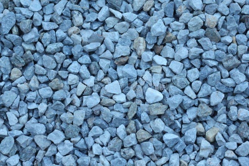 Pierre de matériel de texture de gravier de granit images libres de droits
