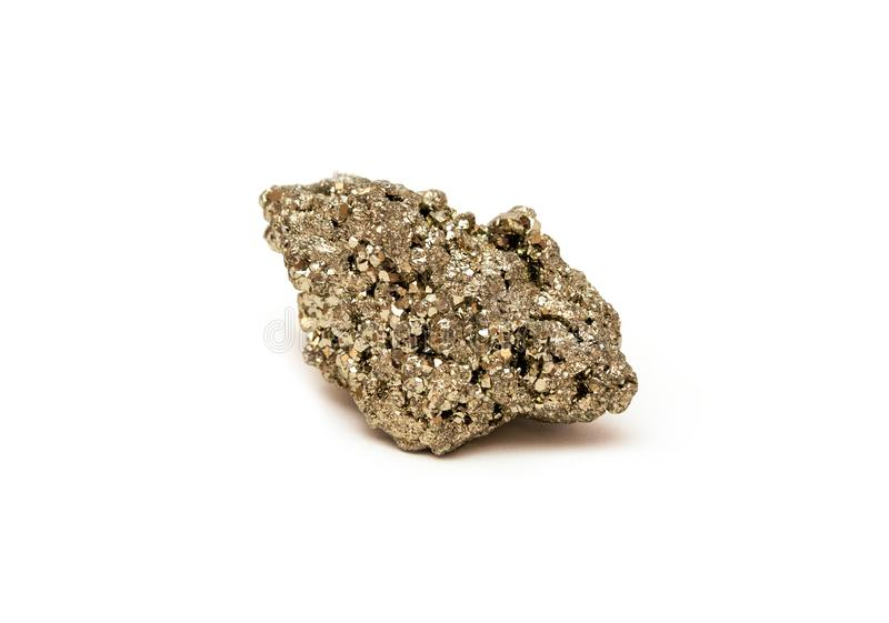 Pierre de pyrite images stock