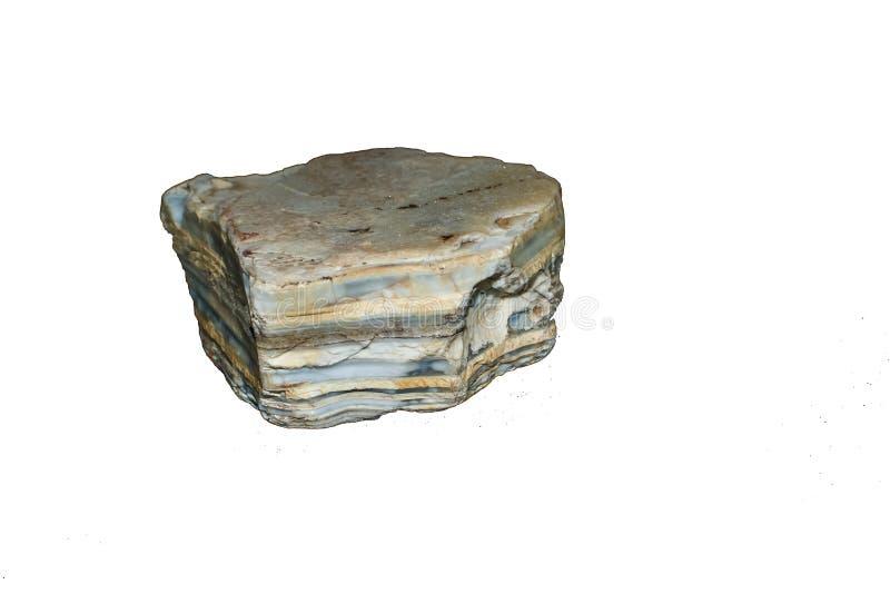 Pierre de roche sédimentaire images stock