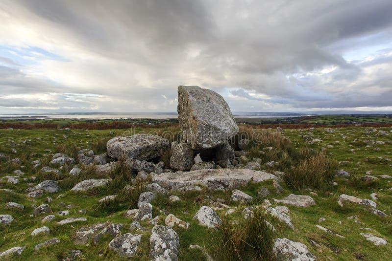 Pierre du ` s d'Arthur - Pays de Galles photographie stock libre de droits