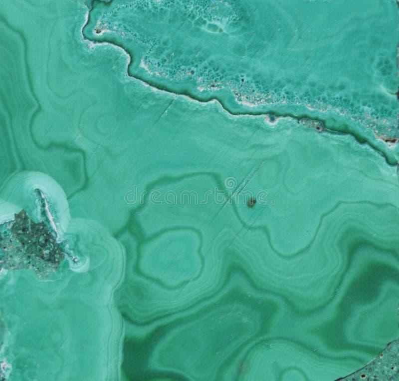 Pierre gemme minérale verte de malachite photographie stock libre de droits