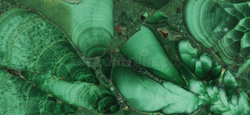Pierre gemme minérale verte de malachite photo libre de droits