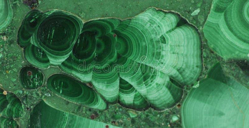 Pierre gemme minérale verte de malachite photographie stock