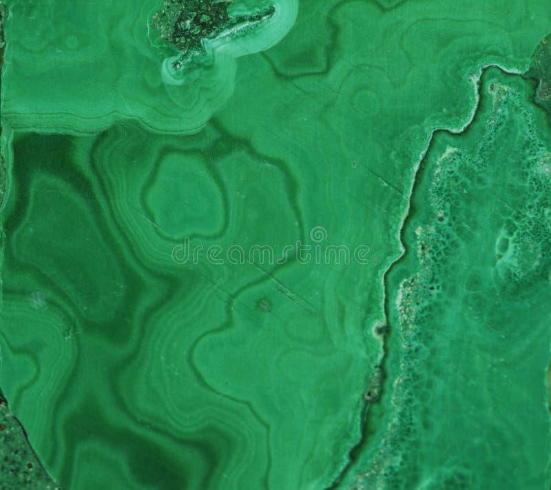 Pierre gemme minérale verte de malachite photos libres de droits