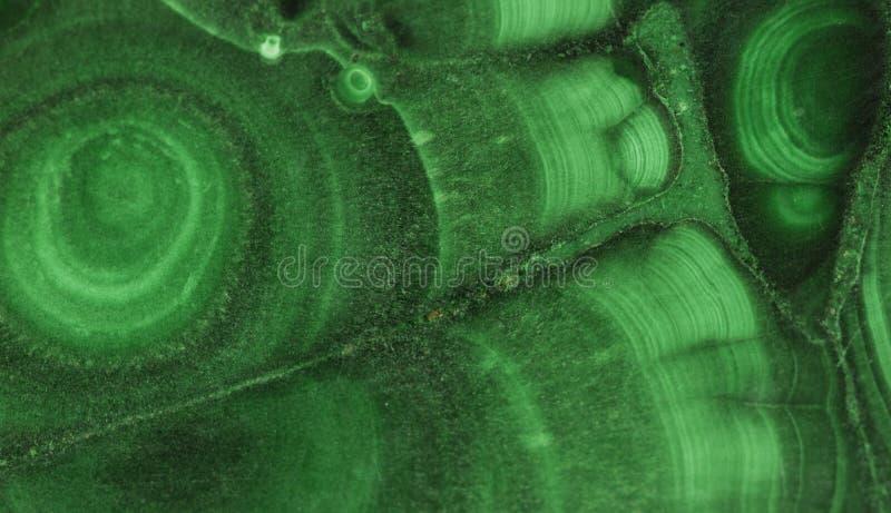 Pierre gemme minérale verte de malachite photo stock