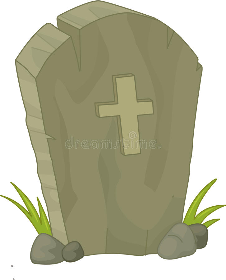 Pierre grave illustration stock
