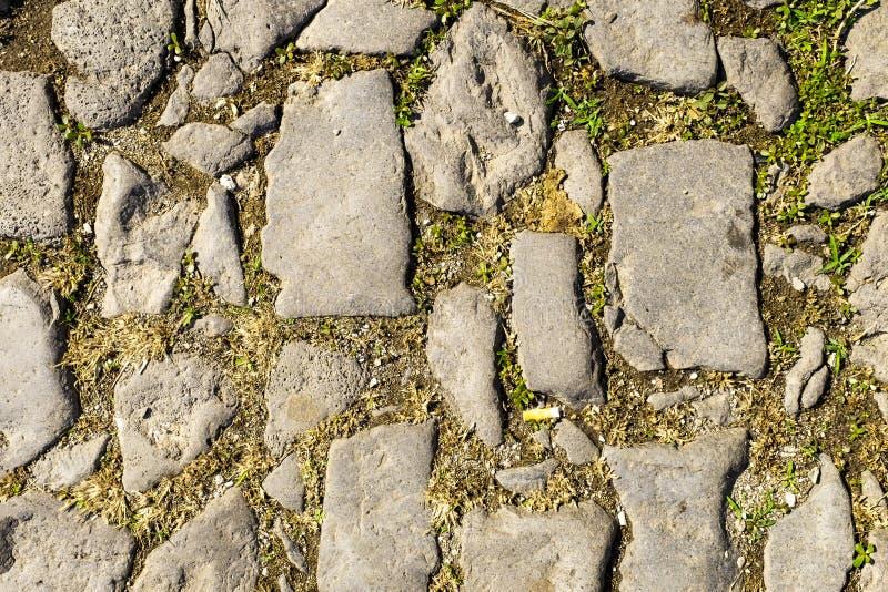 Pierre jaune naturelle de trottoir pour le plancher, le mur ou le chemin photographie stock