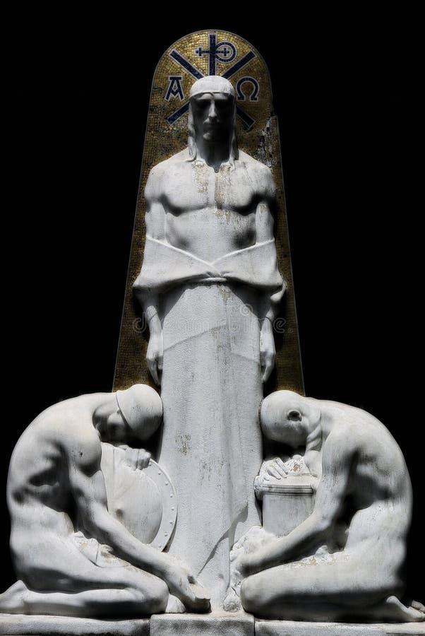 Pierre tombale de Buenos Aires photo stock