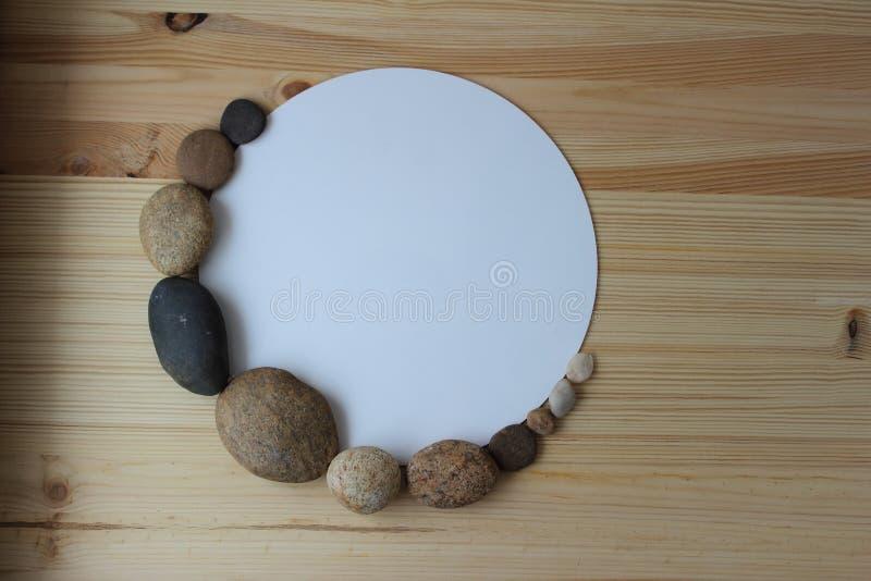 Pierres d'équilibre d'harmonie de zen image libre de droits