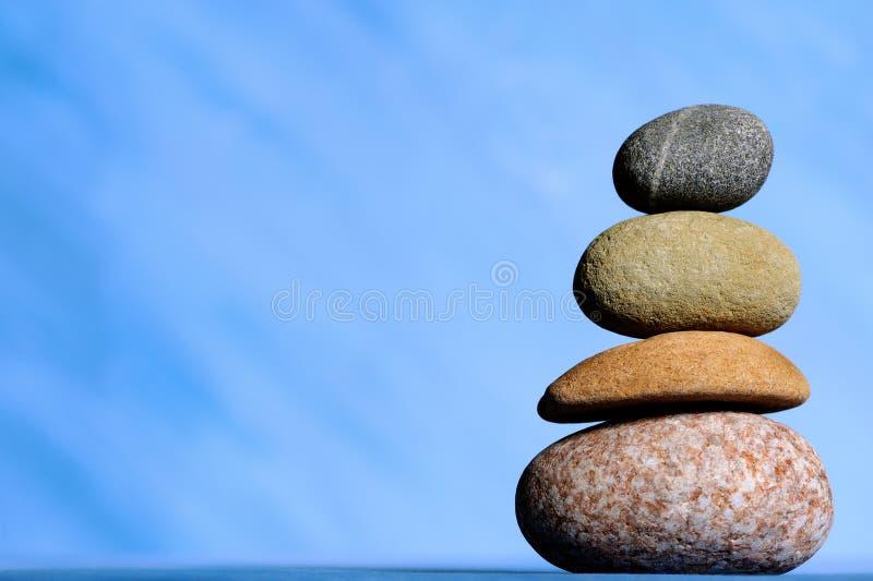 pierres de équilibrage images libres de droits