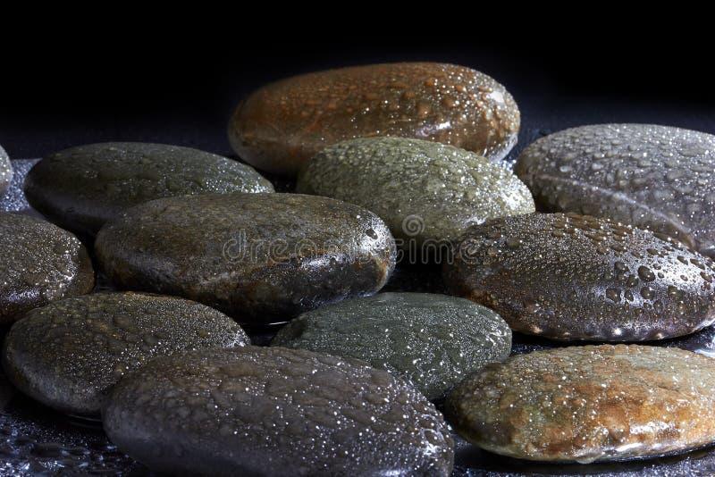 Pierres de basalte image libre de droits