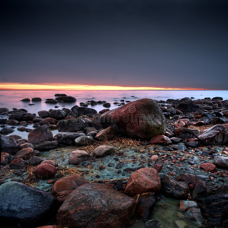 pierres de cailloux photo stock