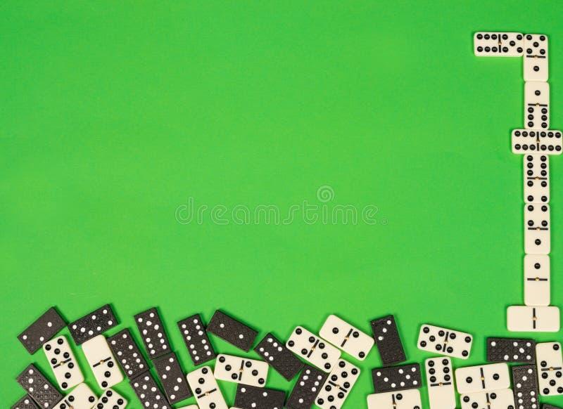 Pierres de domino images stock