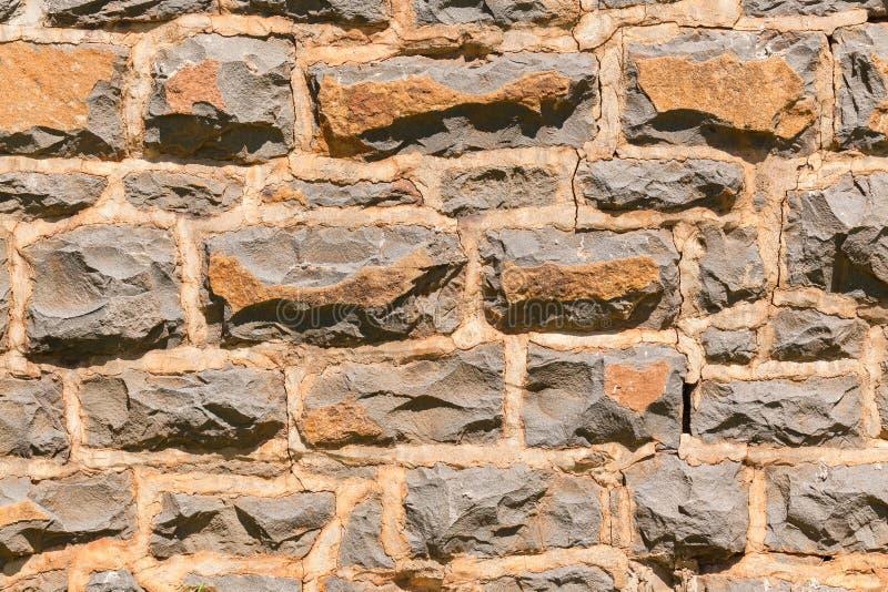 Pierres de granit de mur photographie stock libre de droits