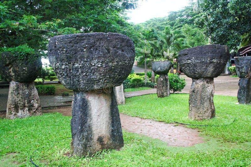 Pierres de la Guam Latte image stock