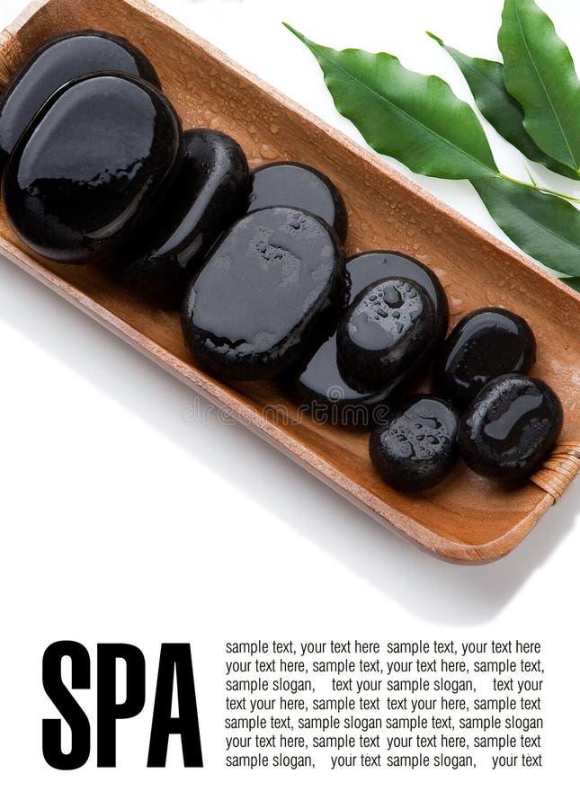 Pierres de massage photo libre de droits
