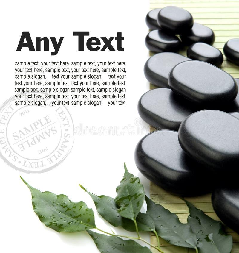 Pierres de massage photos libres de droits