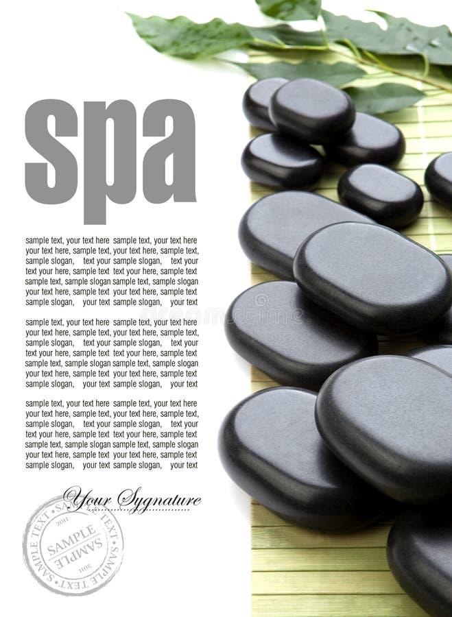 Pierres de massage image libre de droits