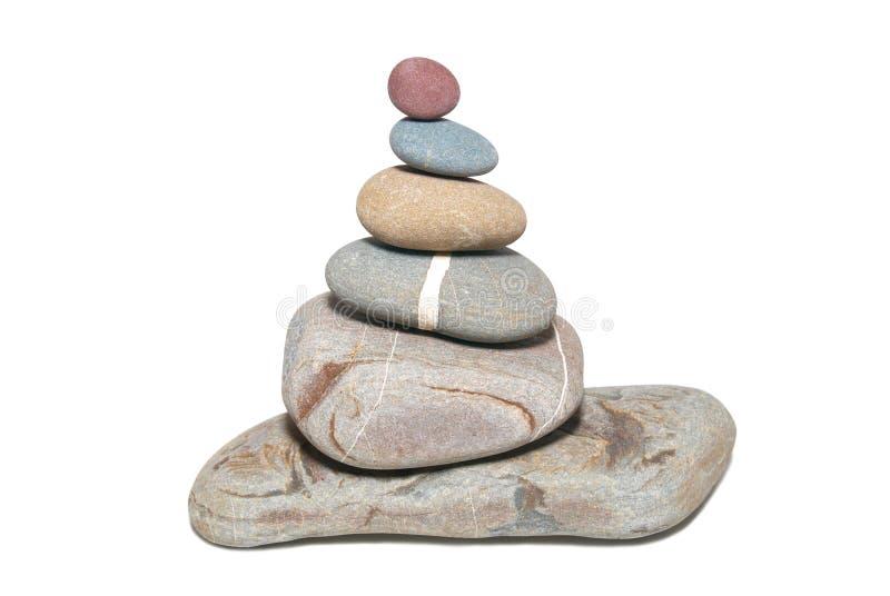 pierres de pyramide images stock