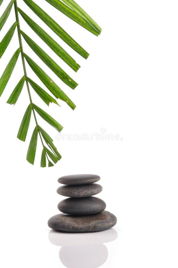 pierres de zen photo libre de droits