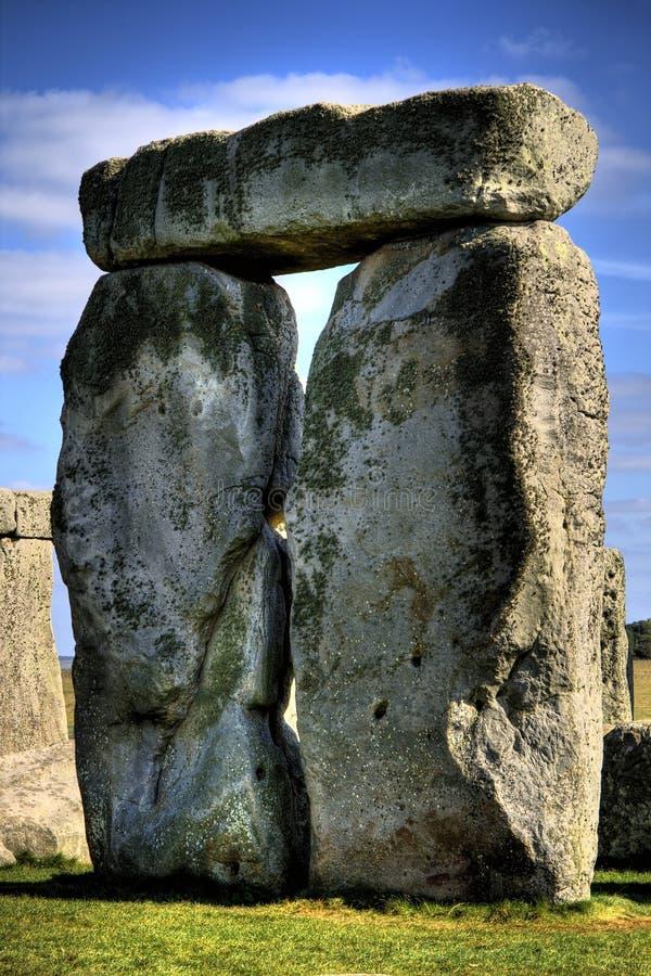 Pierres debout de Stonehenge images libres de droits