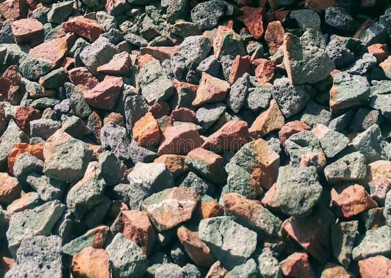 Pierres des briques d'argile images stock