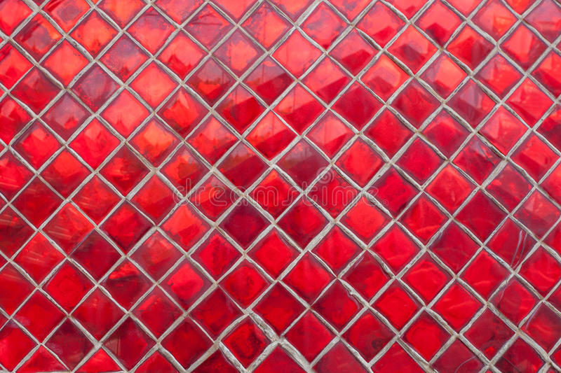 Pierres rouges disposées image stock