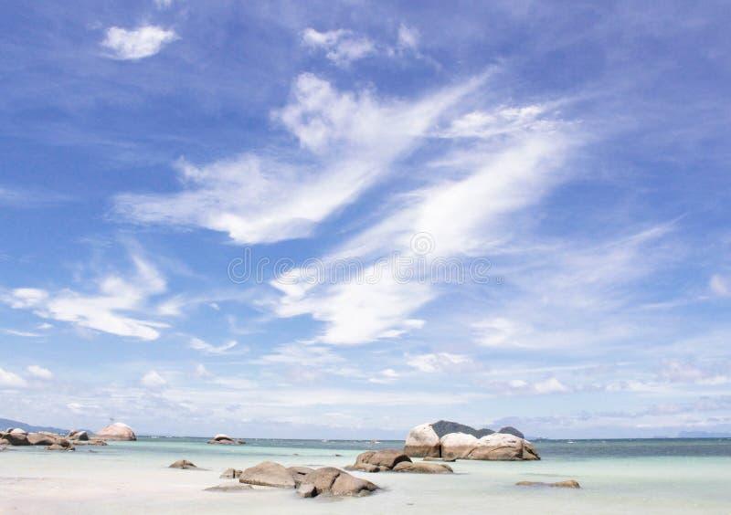 Pierres sur les régions côtières photos libres de droits