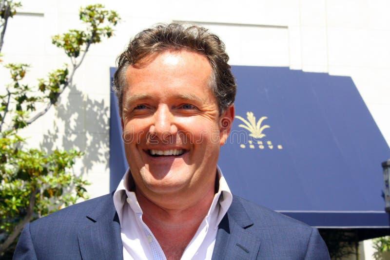 Piers Morgan stockbild