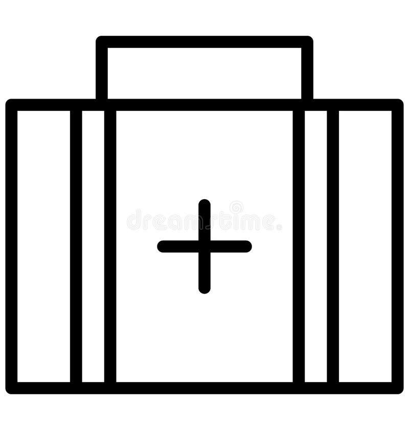 Pierwsza Pomoc wektor który może łatwo redagować lub modyfikujący ilustracji