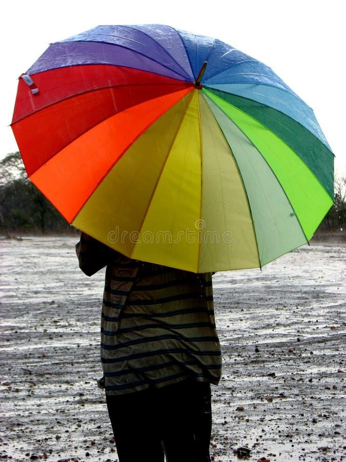 pierwsze deszcze obrazy stock