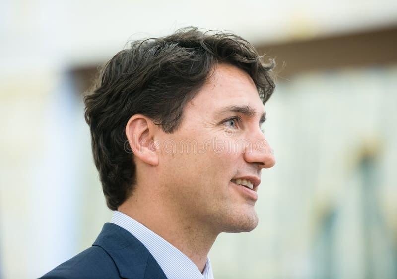 Pierwszorzędny minister Kanada Justin Trudeau zdjęcia royalty free